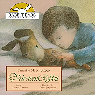 The Velveteen Rabbit                   By:                                                                                                                                 Margery Williams                               Narrated by:                                                                                                                                 Meryl Streep                      Length: 25 mins     112 ratings     Overall 4.7