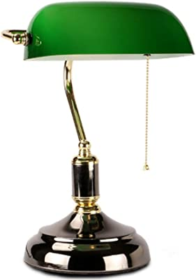 Lfixhssf Retro lámpara de mesa de los hogares, conmutador de