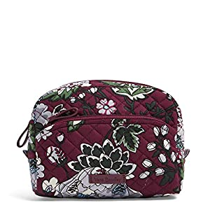 Beauty Shopping Vera Bradley Women's Signature Cotton Medium Cosmetic Makeup Organizer Bag