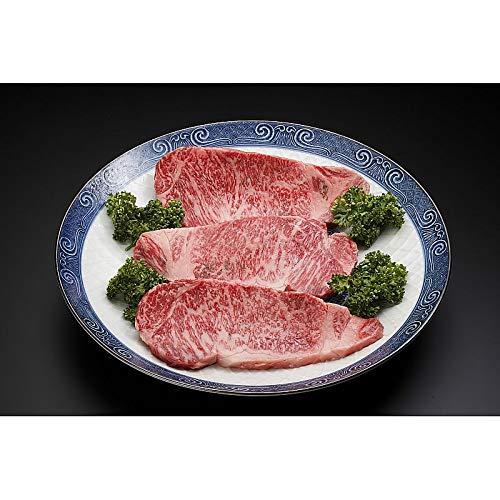 ( 産地直送 お取り寄せグルメ ) 山形牛 ロースステーキ 200g×3枚