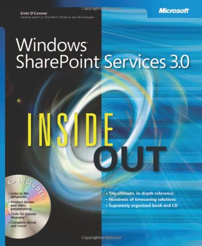 Windows® SharePoint® Services 3.0 Inside Out (Bpg Inside Out)