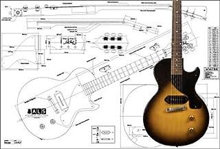 Plan de Gibson Les Paul Junior guitarra eléctrica – escala completa impresión