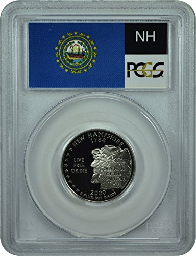 2000 S New Hampshire Statehood New Hampshire Statehood Quarter DCAM PCGS PR-69