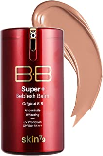 [SKIN79] Super Plus Beblesh Balm Original Bronze BB (SPF50/PA+++) 1.35 fl.oz. (40g) - Healthy Looking Light and Fresh Texture BB Cream, Moisturizing & Soothing Effect Without Smudging