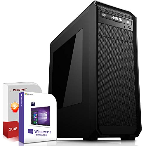 Multimedia Office PC Intel Core i7 9700K 8x4.9GHz 8.Generation |ASUS Board|16GB DDR4|250GB M.2 SSD u. 1000GB HDD|Intel UHD 630 Grafik 4K DVI|DVD-RW|USB 3.1|SATA3|Windows 10 Pro|3 Jahre Garantie