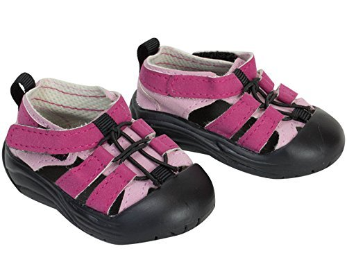 18 Inch Doll Sandal Shoes fit for American Girl Dolls, Pink Outdoor Sandal