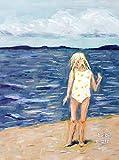 Beach Girl: Large Blank Notebook (36) (Blinkies)...