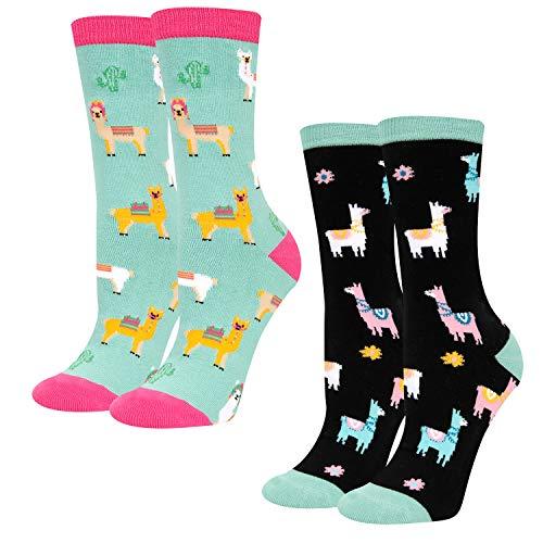 Llama Novelty Socks