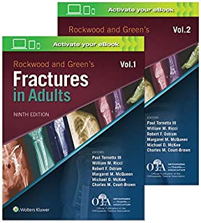 Rockwood and Green's Fractures in Adults (1496386515) | Amazon price tracker / tracking, Amazon price history charts, Amazon price watches, Amazon price drop alerts