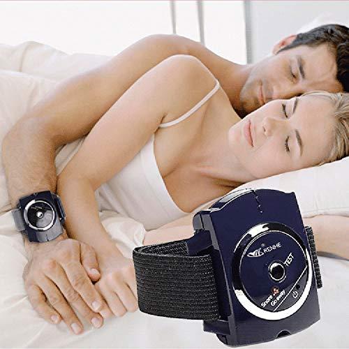 HONGMEI Smart Snore Stopper Stop Schnarchen Biosensor Infrarot Ray Erkennt Anti Schnarchen Gerät Armband Uhr Schlaf-beihilfen