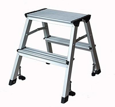 QQXX Taburete, Escalera de Aluminio multifunción Escalera Plegable Engrosada Taburete Taburete: Amazon.es: Hogar