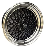 GBodyParts Reproduction GNX Rim Wheels 18' x 8' GNX Hex Center Cap and Inlay EACH