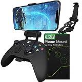 Clip de juego móvil para mando Xbox Series X, soporte de teléfono ajustable para mando Xbox...