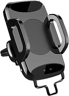 Biltelefonhållare infraröd sensor outlet trådlös laddning för iPhone Xr, Xs, X, Samsung anvisning 9, S9, Huawei, Sony, Htc...