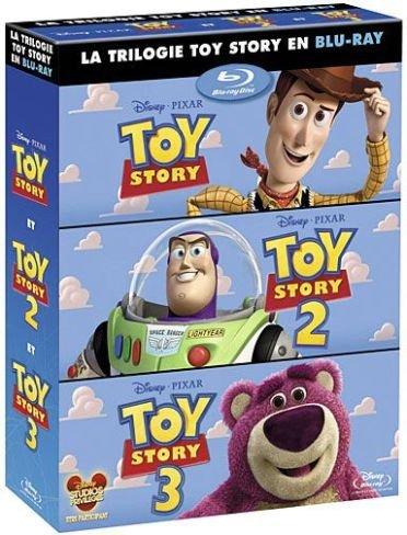 Toy Story + Toy Story 2 + Toy Story 3 - coffret 4 Blu-ray