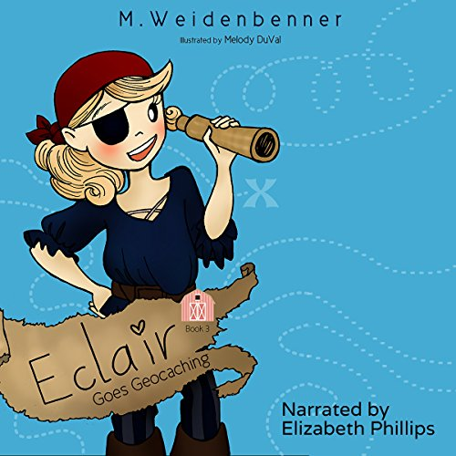 Eclair Goes Geocaching audiobook cover art