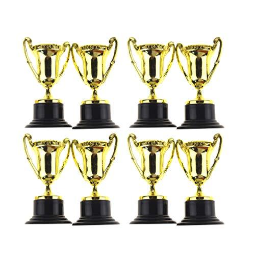 NUOBESTY Trofeo Coppa di plastica 20pcs Trofeo Premio in plastica per Bambini concorsi premi Feste bomboniere premi premi premi Scuola Giochi