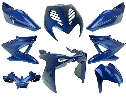 Verkleidungssatz Yamaha Aerox/MBK Nitro blau metalic 8-teilig