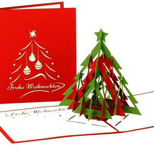 Pop-Up Weihnachtskarte