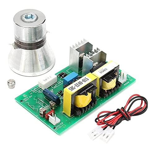 XUNLAN Durable Limpiador de transductores de Limpieza ultrasónico de 100W 28kHz Limpiador de Alto Rendimiento + Tablero de Controlador de energía 220VAC Piezas de Limpiador ultrasónico Wearable