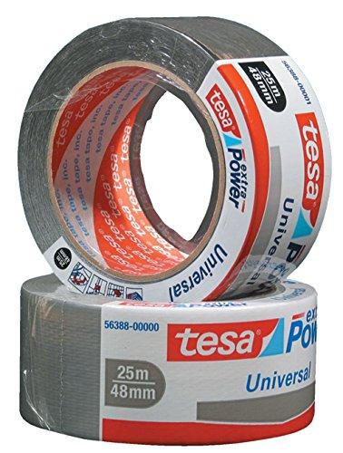 Tesa Tape 04612-00001-00 Klebeband, 48 mm, 25 m