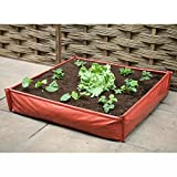 Large Plastic Garden Raised Bed Grow Bag Planter Raised Growbag Plant Pot Frame