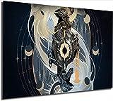 Leona Eclipse - Lienzo decorativo para pared, 45,72 x 60,96 cm, diseño de leyendas de la liga, sin marco
