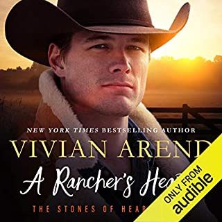 A Rancher's Heart audiobook cover art
