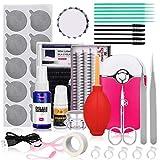 Pro 21 Pcs Eyelash Extension Kit, Mcwdoit Professional False Lashes Eyelashes Extension Practice Set Tools Lash Starter...