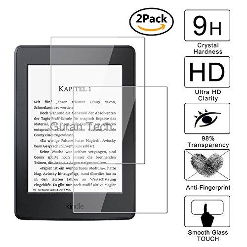 [2 Unidades] Guran® Protector de Pantalla Vidrio Cristal Templado Para Amazon Kindle Paperwhite Cristal Vidrio Templado Film