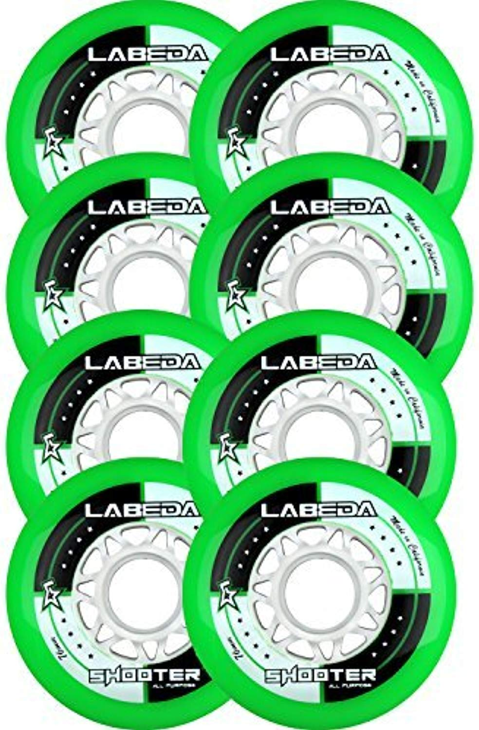 LABEDA ruedaS Inline Roller Hoc ave SHOOTER 76 80 HiLo by Labeda