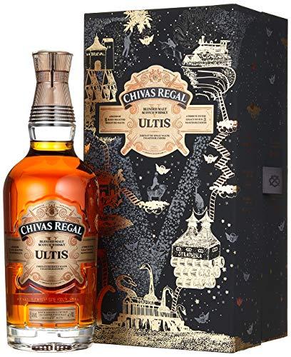 Chivas Regal Ultis Blended Malt Scotch Whisky mit Geschenkverpackung – Edle Komposition aus fünf erlesenen Single Malts der berühmten Speyside-Region – 1 x 0,7 L