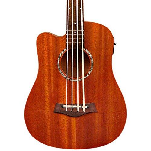 Guitarra bajo de 4 cuerdas, tono dorado, izquierda (M-BASSFL