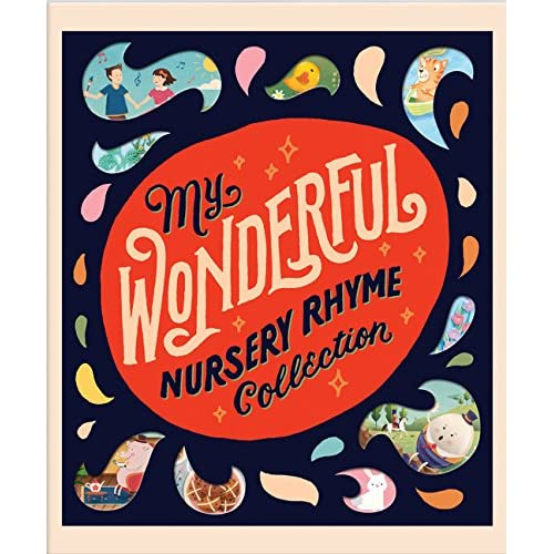 Amazoncom My Wonderful Nursery Rhyme Collection 9781626866836 - The-beautiful-dot-and-cube-collections