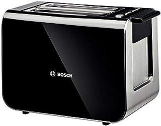 Bosch TAT8613GB Styline 2 Slice Toaster, Black