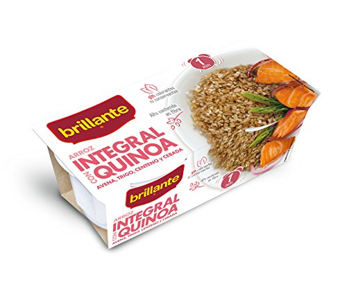Brillante Arroz Integral Con Quinoa 125G X 2 - Pack De 8 - T