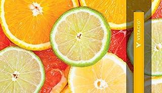 ビタシグ VITACIG 6種類から選べるオーガニック フレーバー 水蒸気リキッド 禁煙グッズ (クールシトラス) [並行輸入品] (クールシトラス)