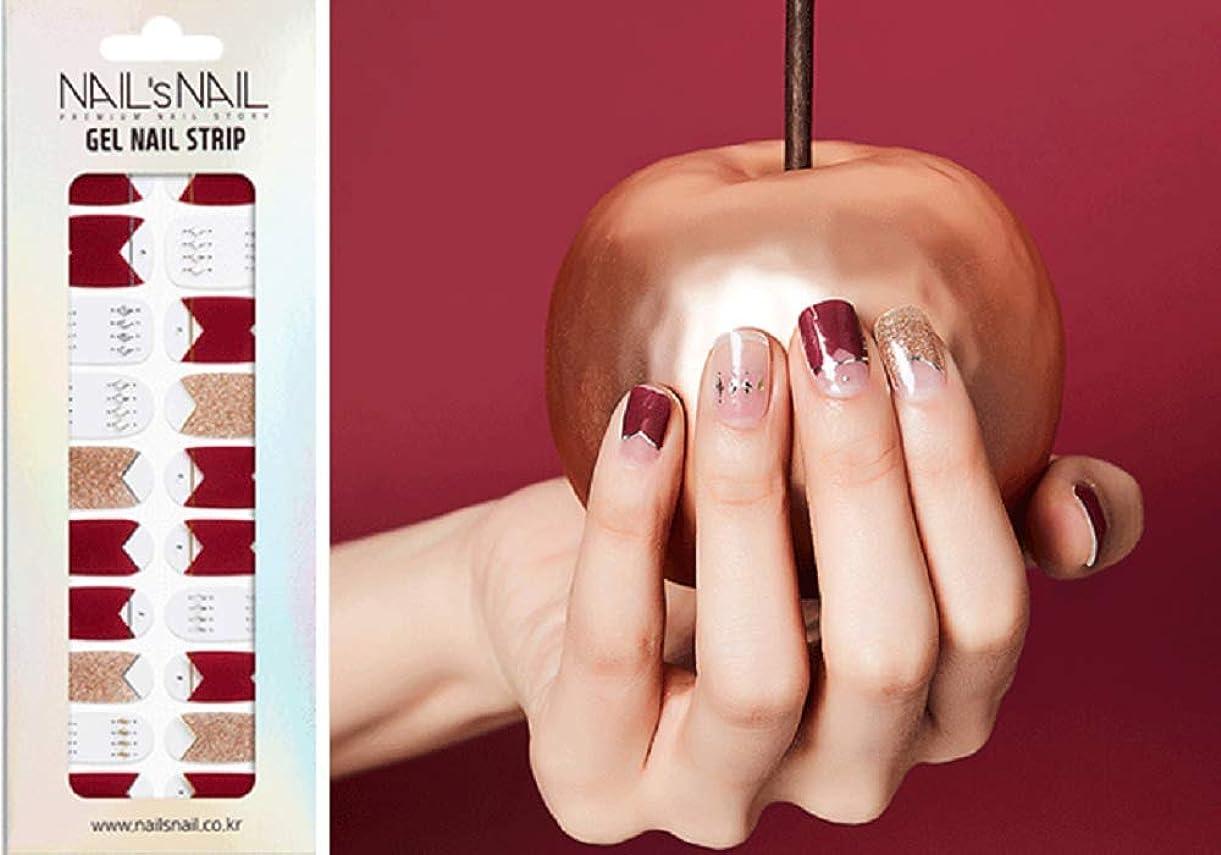 小数敬礼ライオン\貼るジェルネイル/Nail's Nail(ネイルスネイル) ジェルネイルストリップ 109