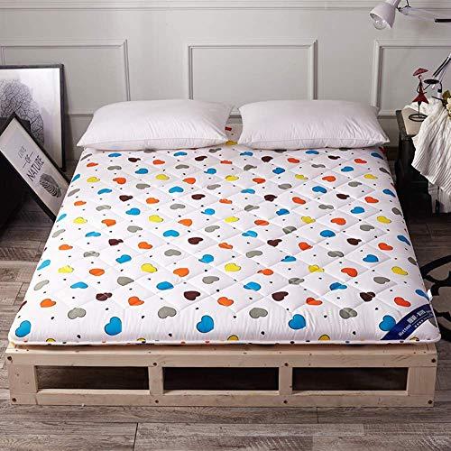 QINFEN Mattresses Bed Pad,Mattress Pad,Crawling Mat,Tatami Mats Folding Floor Sleeping Pad For Student Dorm Room Bedroom-A 100x200cm(39x79inch)
