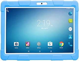Atouch Tablet, Kids Tab A10,10.1 inch Tablet,Dual Sim,4GB Ram,64GB Rom,4G Lite with Gifts (Blue)