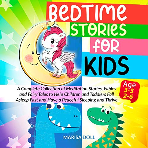 Bedtime Stories for Kids: 2 Books in 1 cover art