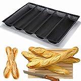 Sartén para molde de baguette Silicona...