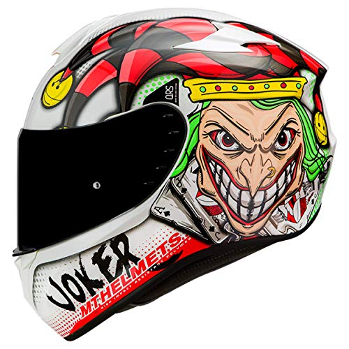 Mt Helmets Targo Joker A0 Gloss Pearl White L