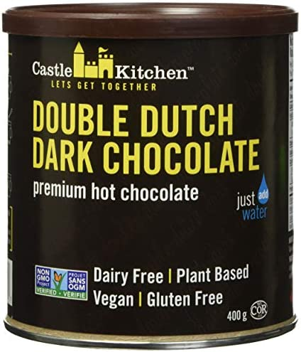 Castle Kitchen Double Dutch Dark Chocolate Dairy Free Vegan Premium Hot Chocolate Mix Just Add product image