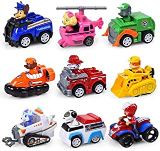 Action & Toy Figures - Paw Patrol toys set Dog Puppy Patrol Car Patrulla Canina Action Figures vinyl doll Toy Children Toy...