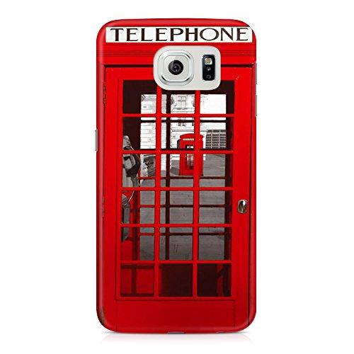 【Samsung Galaxy S6 edge】赤い電話ボックス RED PHONE BOOTH Samsung Galaxy S6 edge ケース