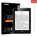 [2-Pack] Kindle paperwhite Screen protector, VIKEE HD Clear Protector [Anti-Scratch] [No-Bubble] [Case-Friendly], 9H Hardness Tempered Glass Screen Film for All-New Kindle Paperwhite 2018 10th Generat