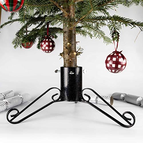 Bosmere Products Ltd Support pour Arbre de noël diamètre 10 cm Noir - g452