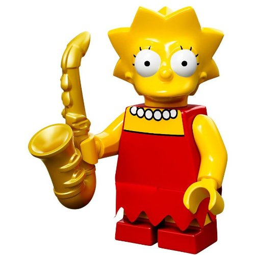 LEGO Minifiguren 71005 The Simpsons: Lisa Simpson