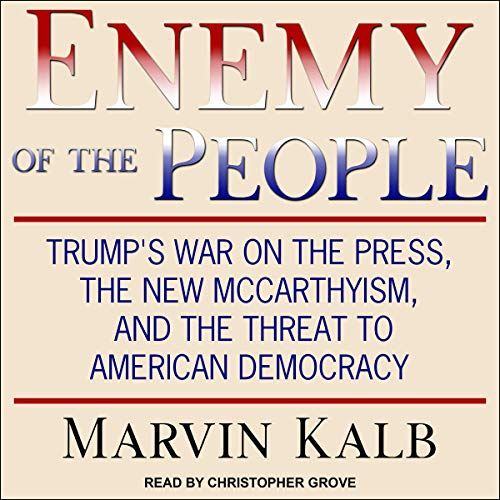 Enemy of the People audiobook cover art